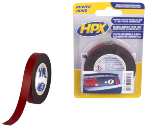 HPX Double coated tape 12MMX2M