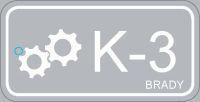 Brady Energy source tag K-3-75X38MM-PP 25PC