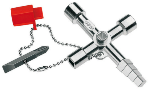 Knipex Control cabinet keys 001104 1104 PROFI-KEY