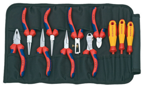 Knipex Set TOOL ROLL 11-PART