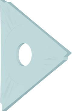 Dormer Insert K303 40.0mmx2.5mm