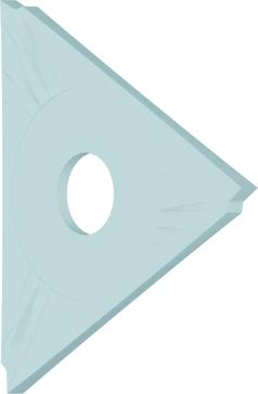 Dormer Wendeplatten K304 23.0mmx1.5mm