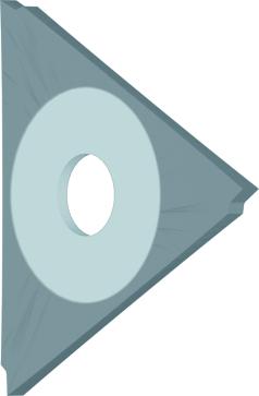 Dormer Plaquette K333 40.0mmx2.5mm