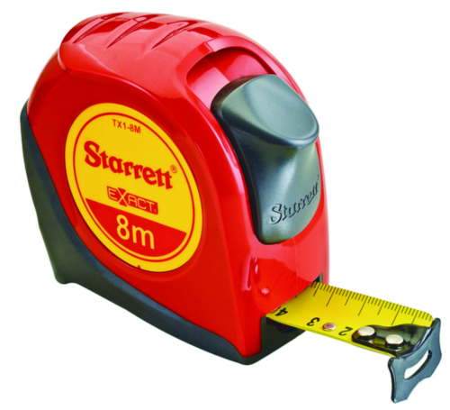 STAR MEASURING TAPE KTX1-8M-N 8M