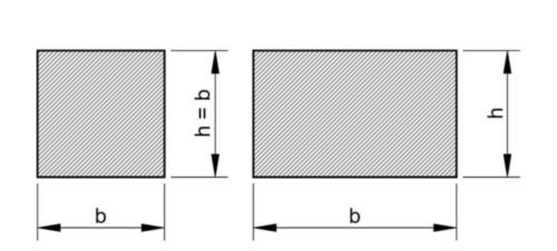 Presná klinová oceľ, 1 meter DIN 6880 Oceľ C45+C Nelegovaná 18X11MM