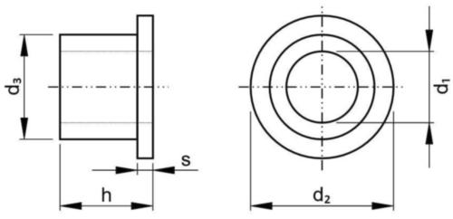 Izolační pouzdro Type II/M Plast Polyamid (nylon) 6.6 12X10MM