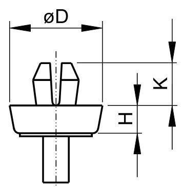 Glide Plastic Polyamide (nylon) 6.6 1806 BLACK