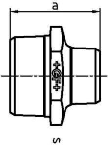 FVZ MALL VRL NIPPEL F245       1.1/4X3/4