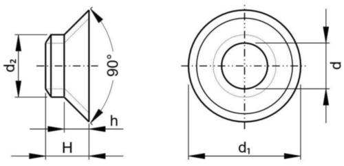 Bucşă izolantă Plastic Poliamidă (nilon) 6.6 M12