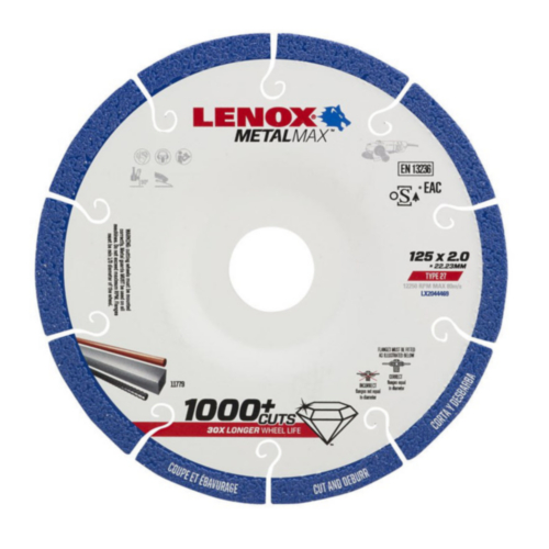 Lenox Cutting wheel METAL MAX 125X2.0X22.2MM