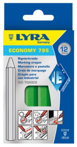 LYRA 12PC MARK CHALK 795           GREEN
