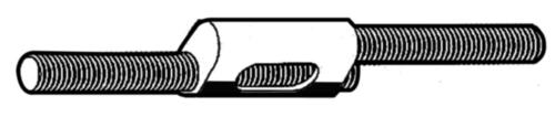 FISCHER Parallelverbinder Zamac 3 M8