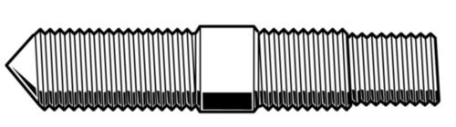 Schroefdraadstift voor apparaat type 620 Staal