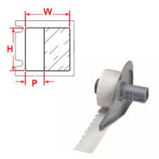 Brady Imprimer les étiquettes M71-10-427 750PC