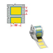 Brady LS ZH Wire Marking Sleeve M71-750-175-7641Y 75PC