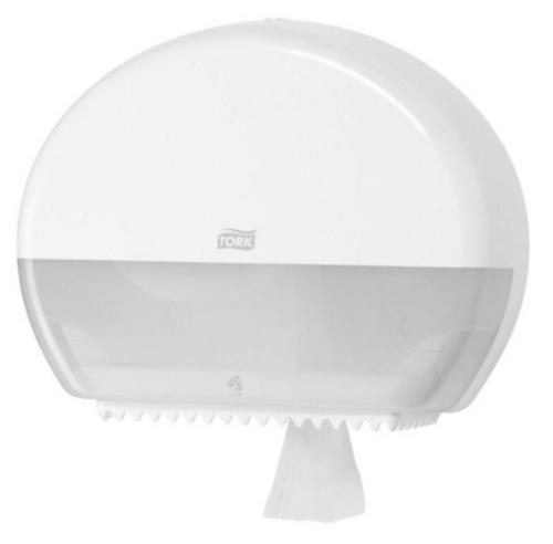 Tork Handdoekdispensers 555000 MINI WHITE