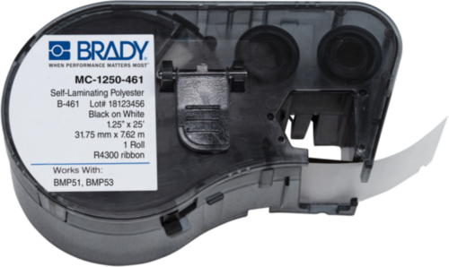 Brady Labelling tape 7.62X31.75MM