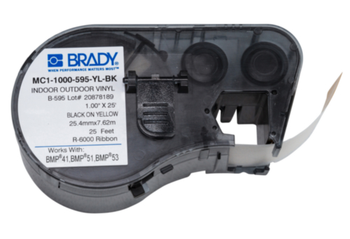 Brady Labelling tape BMP41/BMP51/BMP53