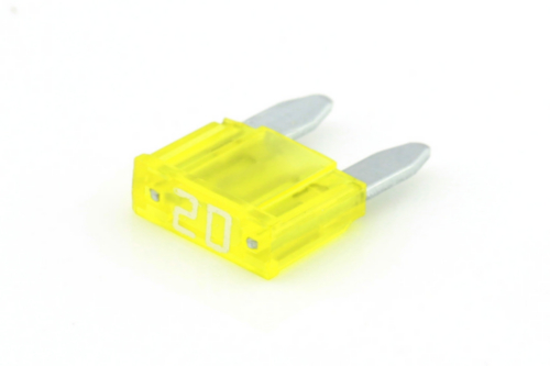 RIPC-1000PC-MIF20 MINI FUSE 20A YELLOW
