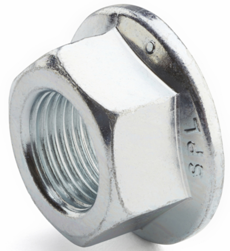 Hexagon lock nut with flange ISO 4161 Stainless steel A4