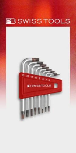 PB Swiss Tools Sechskantschlüsselsatz
