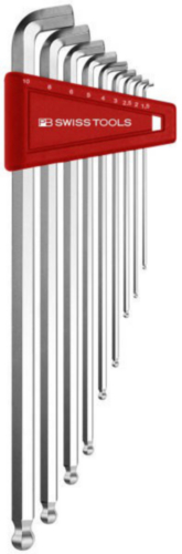 PB Swiss Tools Conjuntos de chaves sextavadas PB 2212.LH-10