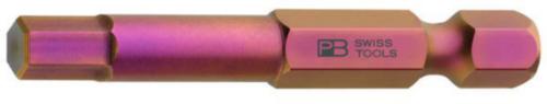 """PB Swiss Tools Embouts E 6,3 (1/4"""") PB E6.210/5"""