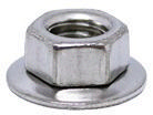 COMBY Hexagon nut with captive conical washer Stainless steel A2