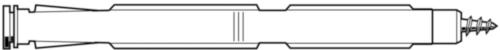 FISCHER Frame fixing type F-S Plastic Nylon (polyamide)