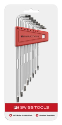 PB Swiss Tools Hexagon key sets PB 3411.H 6-25 CN