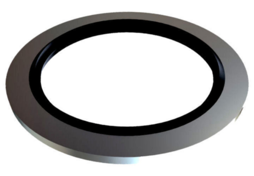 Bonded seal, self centering Steel / NBR Zinc plated