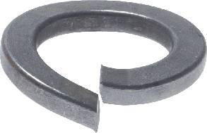 Spring lock washer with tang ends DIN 127 A Spring steel Hot dip galvanized