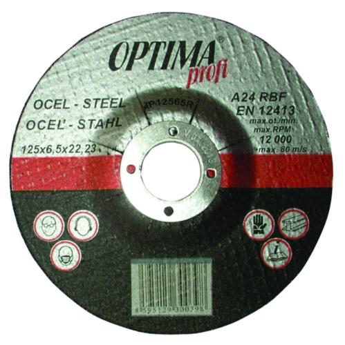 Optima Rezný kotúč IP12565R 125X6,5 A24R