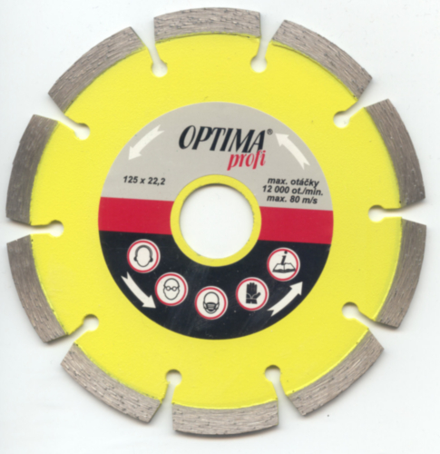 Optima Diamond cutting disc DP30025 300X2,8X25,4