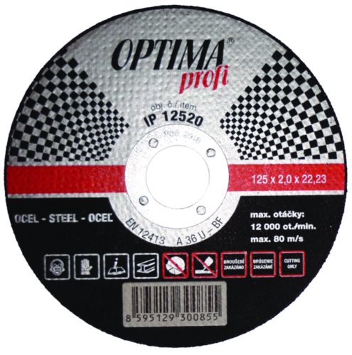Optima Disque à tronçonner IP15040 150X4 24R-BF