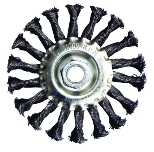 Optima Wheel brush KN125O050CZ 125X0,50