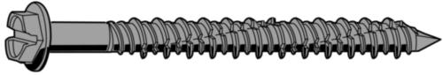 POWERS Anchoring screw hexagon type TAPH Steel Perma-Seal