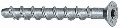 Concrete anchoring screw countersunk type SK Ultracut Carbon steel, hardened Zinc plated 10X100-45/35/15