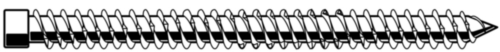 MAXXFAST Kozijnschroef Staal Elektrolytisch verzinkt