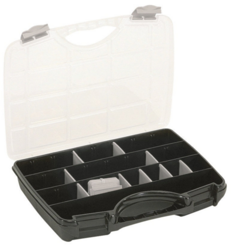 RAAC TOOLBOX        A-45 NEW BLACK/SILV.