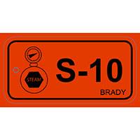 Brady Energy source tag steam 10 25PC