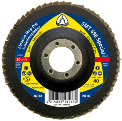 Klingspor Flap disc 115X22,23 P60