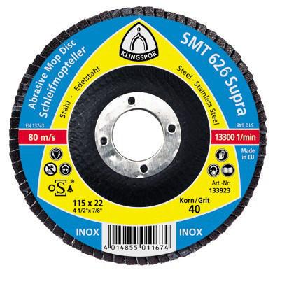 Klingspor Flap disc K80