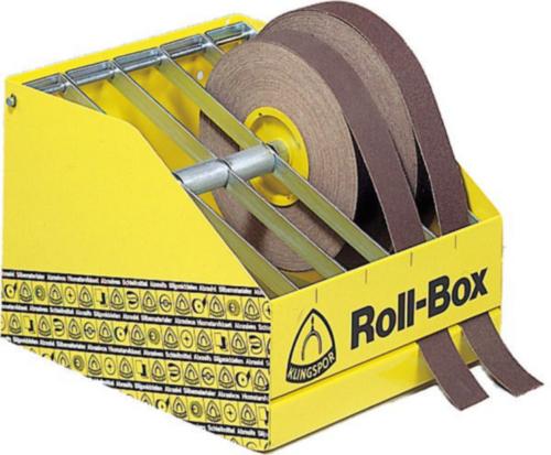 Klingspor  <listsep/>Rol box  <listsep/>Roll-box