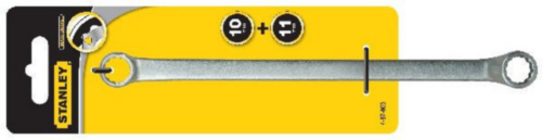 Stanley Double ended ring spanners 4-87-803 10X11