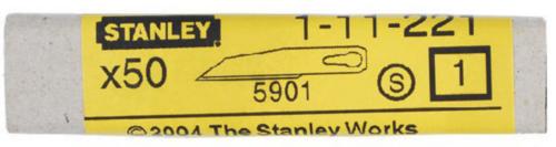 Stanley  Náhradní čepele  1-11-221