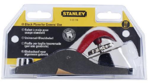 Stanley Blokové hoblíky 1-12-116 116 180X40MM