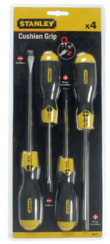 STAN SCREWDR 0-65         SET013-4PIECES