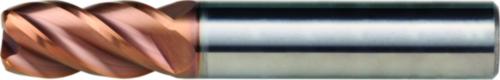 Dormer Frez czołowo-walcowy z promieniem naroża S523 SC Titanium-Silicium-Nitride 8.0XR1.0