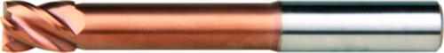 Dormer Corner radius end mill S524 SC Titanium-Silicium-Nitride 5.0XR0.5